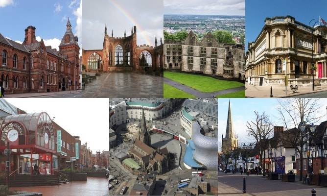 West Midlands area collage