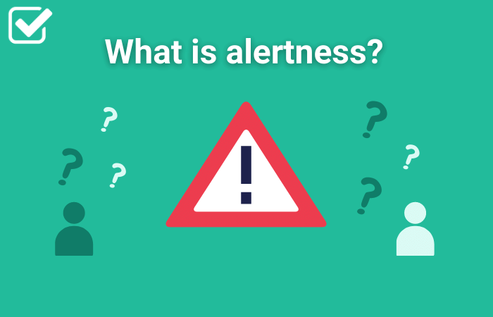 What is alertness featured image