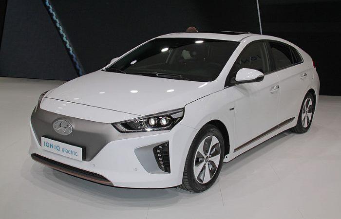 Screenshot of Hyundai IONIQ